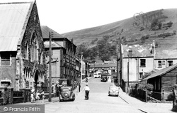 Cwm, Town Centre c.1955