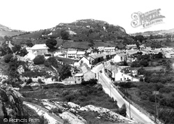 Cwm Y Glo, The Village From The Rocks c.1955