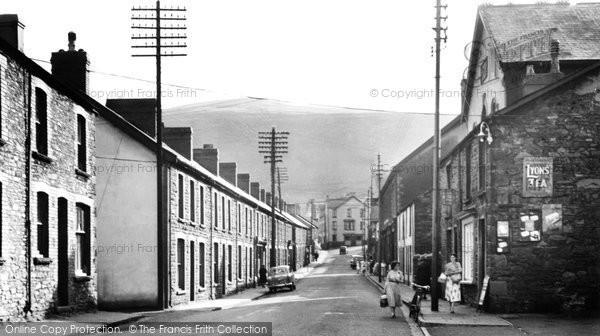 Cwmaman, Fforchaman Road 2 c1955