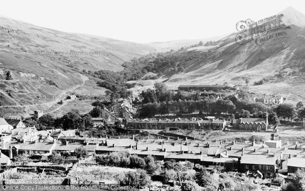 Cwmaman, from Bright Eye c1955