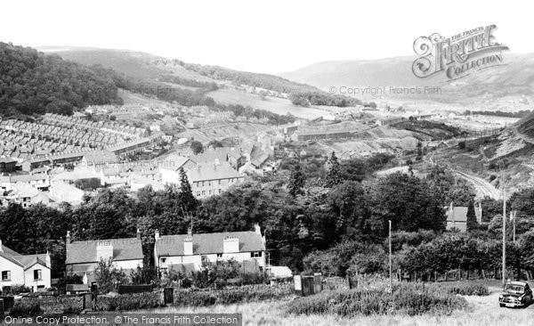 Cwmaman, Lower End c1955
