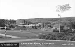 Cwmbran, Caradoc Road c.1960