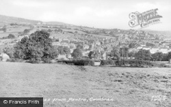 Cwmbran, Cocker Avenue From Pentre c.1955