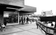 Cwmbran, Fairwater Shopping Centre c1965