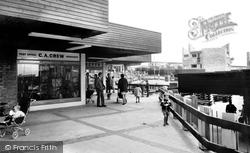 Cwmbran, Fairwater Shopping Centre c.1965