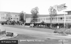 Cwmbran, Gwent Square c.1960