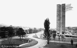 Cwmbran, New Town c.1965
