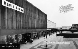 Cwmbran, Shopping Centre c.1965