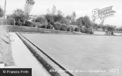 Cwmbran, The Bowling Green c.1955