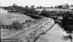 Cwmbran, The Canal Walk c.1955