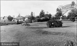 Cwmbran, The Park c.1955