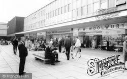 Cwmbran, The Shopping Centre c.1965