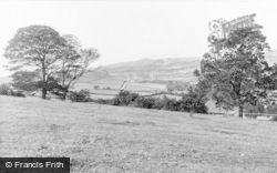 Cwmbran, Ywyn-Barlwm From Pentre c.1955
