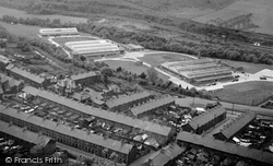 Cwmcarn, Factories Site 1954