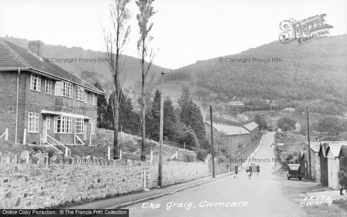 Photo of Cwmcarn, The Craig 1954