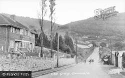 Cwmcarn, The Craig 1954