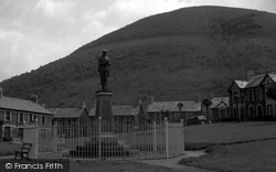 Cwmcarn, The Park And Memorial 1954