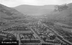 Cwmcarn, The Valley 1954