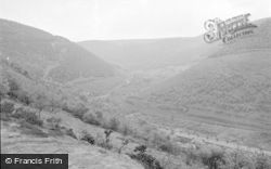Cwmcarn, Twyn Barlwm And Forest Reserve 1954