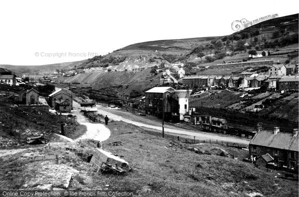 Cwmtillery, Mine Buildings c1955