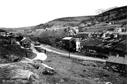 Cwmtillery, Mine Buildings c.1955