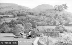 Cwmyoy, Neuadd Farm c.1955