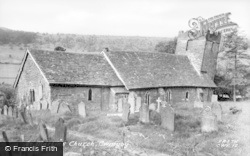Cwmyoy, St Martin's Church c.1955