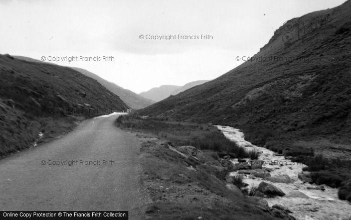 Photo of Cwmystwyth, The Ystwyth Valley Towards Llangurig 1961