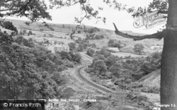 Cymmer, A View Down The Valley c.1950