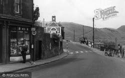 Cymmer, Station Road 1953
