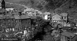 Cymmer, The River c.1950