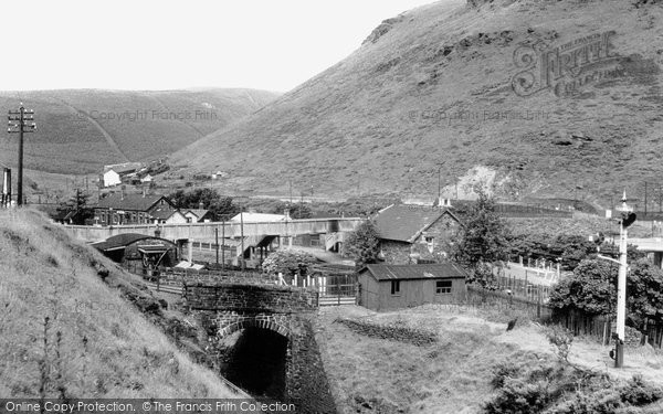 Cymmer, the Station c1955