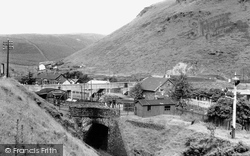 Cymmer, The Station c.1955