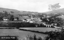 Cynwyd, General View c.1955