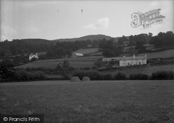 Cynwyd, The Berwyn Range 1936