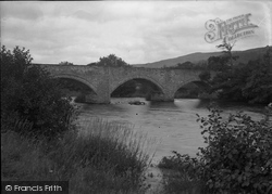 Cynwyd, The Dee Bridge 1936