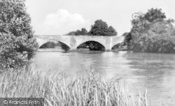 Cynwyd, The River Dee c.1939
