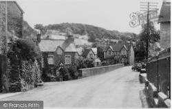 Cynwyd, The Village c.1955