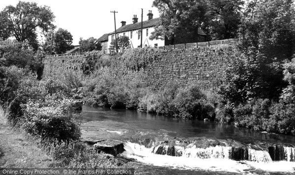 Daddry Shield, the River c1955