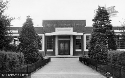 Dagenham, Becontree Branch Library c.1950