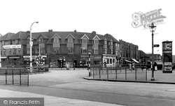 Dagenham, 'chequers' Road Junction c.1951