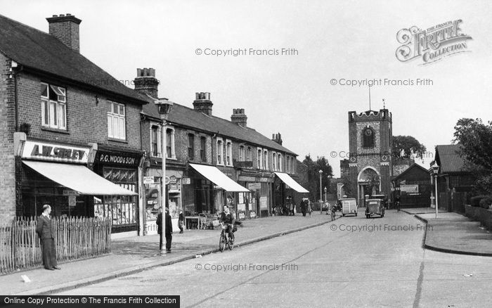 Photo of Dagenham, Church Street c1950, ref. d178004
