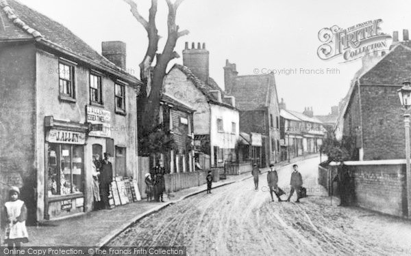 Photo of Dagenham, Crown Street c.1900