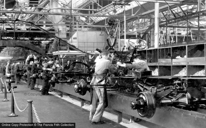 Photo of Dagenham, Interior View Of The Ford Works c.1950