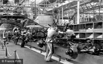 Dagenham, interior view of the Ford Works c1950
