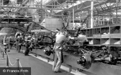 Dagenham, Interior View Of The Ford Works c.1950