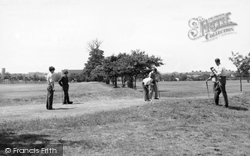 Dagenham, Putting Green, Central Park c.1950