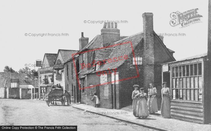 Photo of Dagenham, The Bull Inn And Post Office, Bull Street c.1900