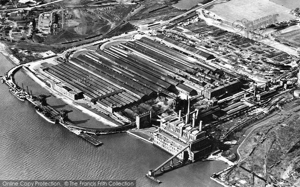 Photo of Dagenham, the Ford Works c1950, ref. D178011