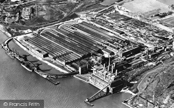 Dagenham, The Ford Works c.1950